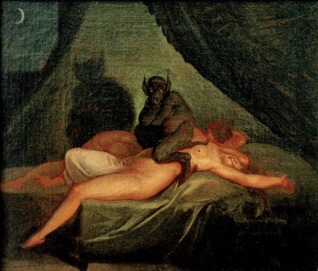 """""""Mareridt"""" von Nikolaj Abraham Abildgaard um 1800"""